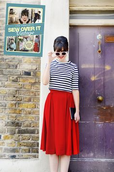 box-pleat-skirt